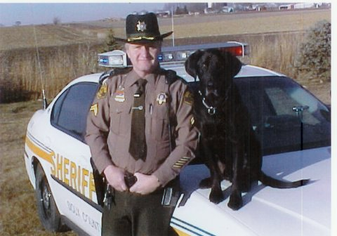 Deputy Holtrop and Jeb
